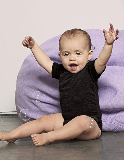 Baby Triblend Short Sleeve Onesie