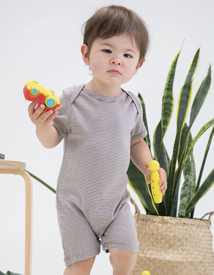 Baby Striped Playsuit