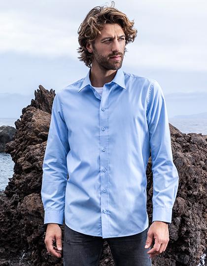 Men`s Poplin Shirt Long Sleeve