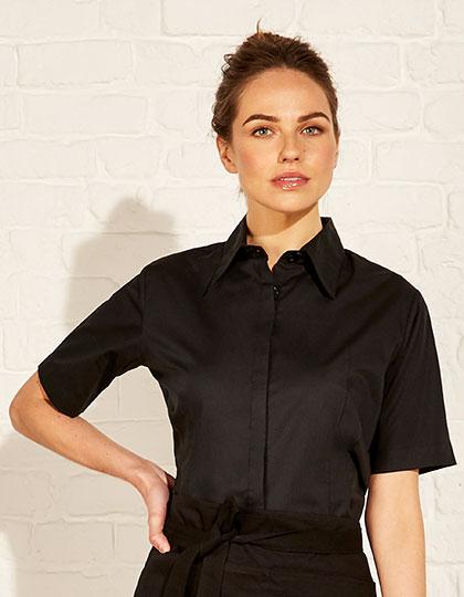Women`s Tailored Fit Bar Shirt Short Sleeve