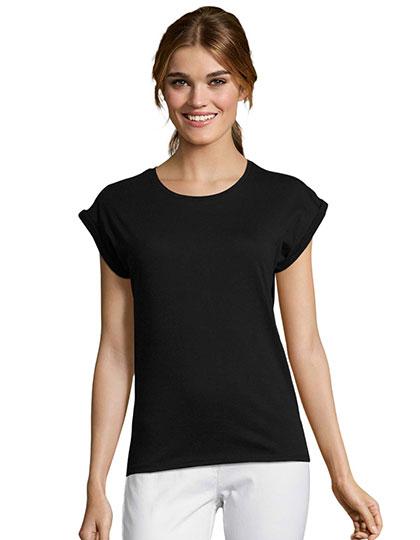 Women`s Round Neck T-Shirt Melba
