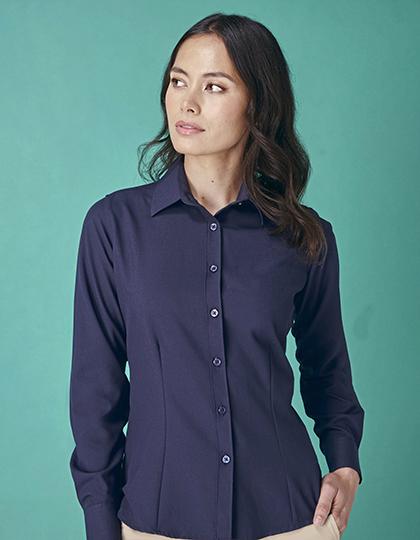 Ladies` Wicking Long Sleeve Shirt