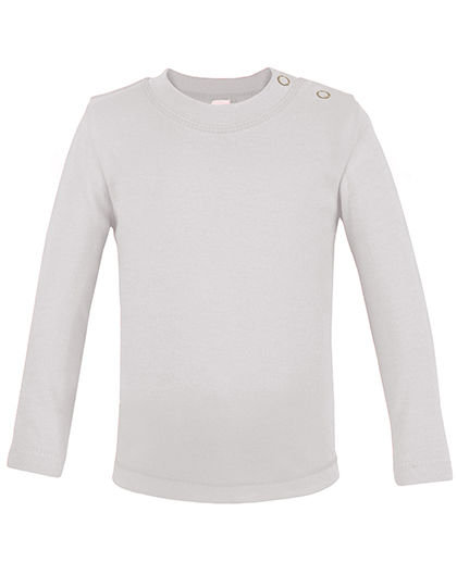 Long Sleeve Baby T-Shirt Polyester