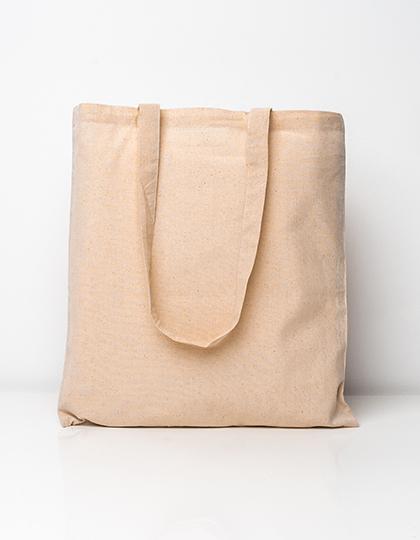Cotton bag, long handles